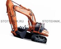 строительная техника - ремонт гусеничных экскаваторов. Doosan Solar 500LC-V