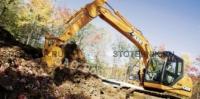 строительная техника - аренда гусеничного экскаватора. CX 130 Long reach