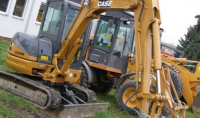 CASE - CNH France S . A . Case СХ40 B