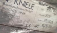 KNIELE Baumaschinen GmbH (Kniele) Kniele ККМ (серия)