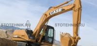 строительная техника - аренда гусеничного экскаватора. Case CX 160В