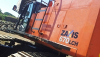 HITACHI Construction Machinery Co. ZХ 670 LCH-3