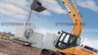 строительная техника - аренда гусеничного экскаватора. Case CX 350
