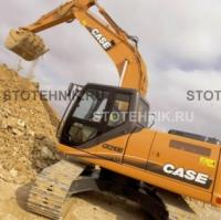 строительная техника - аренда гусеничного экскаватора. Case CX 210B Offset Boom