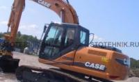 строительная техника - аренда гусеничного экскаватора. Case CX 180В
