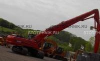 строительная техника - аренда гусеничного экскаватора. Case CX 460