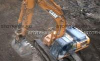 строительная техника - аренда гусеничного экскаватора. Case CX 330 Long reach