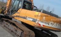 строительная техника - аренда гусеничного экскаватора. Case CX 240В