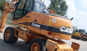 Case WX185 Series 2